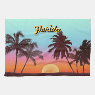 Florida Sunset Tea Towel