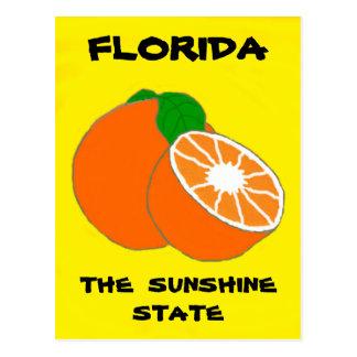 Florida Sunshine State.jpg Postcard