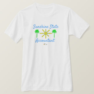 Florida Sunshine State Men's Accounting T Shirt