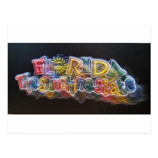 florida-sunshine-state postcard