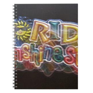 florida-sunshine-state spiral note book