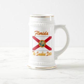 Florida The Sunshine State Beer Stein Mugs