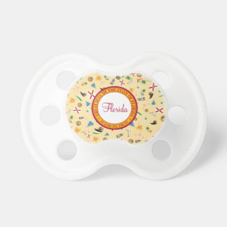 Florida the sunshine state famous items pacifier