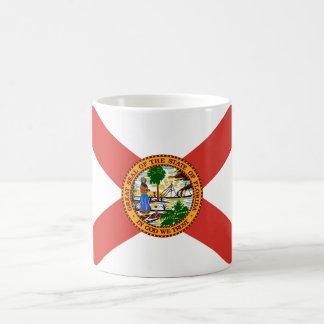 Florida the Sunshine State Flag Coffee Mugs