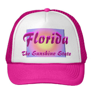 Florida, The Sunshine State Trucker Hat