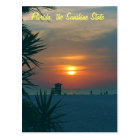 Florida, the Sunshine State Postcard