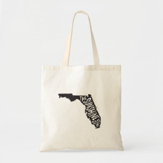 Florida: The Sunshine State Tote Budget Tote Bag