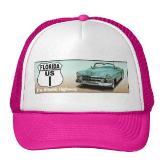 Florida US Route 1 - The Atlantic Highway Hat