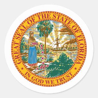 Florida, USA Classic Round Sticker