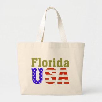 Florida USA! Large Tote Bag