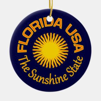 Florida USA ornament - customize