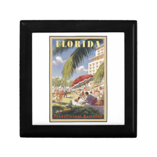 Florida Vintage Travel Gift Box