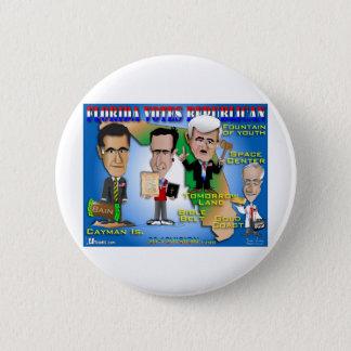 Florida Votes 4 Republicans 6 Cm Round Badge