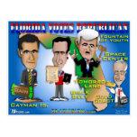 Florida Votes 4 Republicans Post Cards