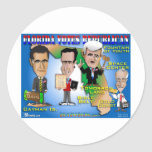 Florida Votes 4 Republicans Sticker