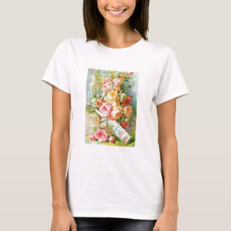 Florida Water Cologne with Cabbage Roses T-Shirt