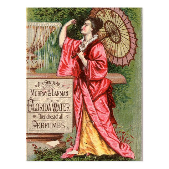 Florida Water Perfume 1881 Advertisement Postcard