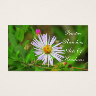 Florida Wildflower Random Acts of Kindness Card