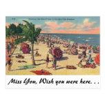 Florida's Fine Beaches Postcards