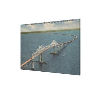 Florida's Sunshine Skyway BridgeFlorida Canvas Prints