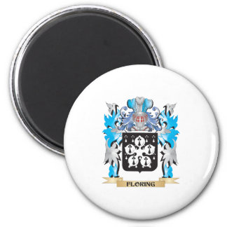 Floring Coat of Arms - Family Crest Fridge Magnets