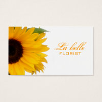 Florist Business Card