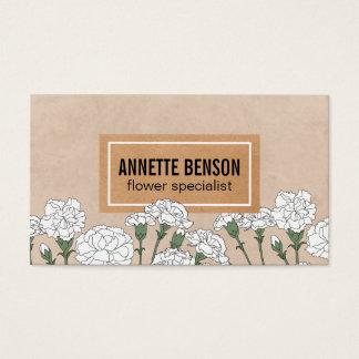 Florist | Carnations (white)