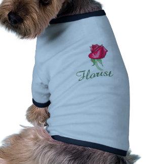 Florist Pet Tshirt