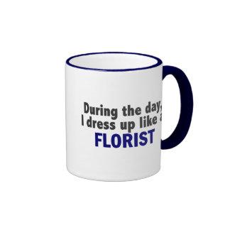 Florist During The Day Ringer Mug