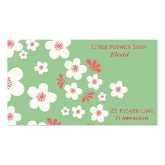 Florist Flower Shop Stylish business Pack Of Standard Business Cards