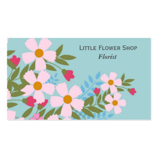 Florist Flower Shop Stylish business Pack Of Standard Business Cards