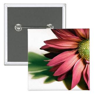 Florist or Landscape Pinback Buttons