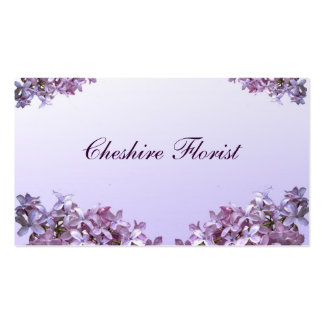 Florist Pack Of Standard Business Cards