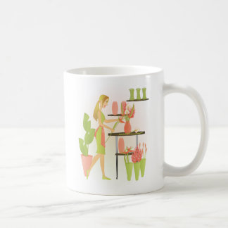 Florist-Peach Coffee Mug