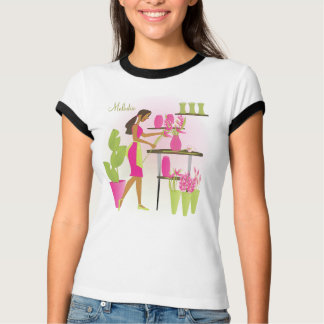 Florist-Pink T-Shirt