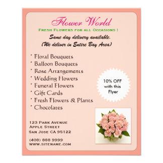 Florist_Promotion(Flyer) 11.5 Cm X 14 Cm Flyer
