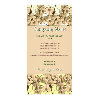 Florists, gardeners, landscapers, spa, spa's photo card template