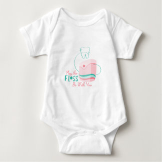 Floss be with You Baby Bodysuit