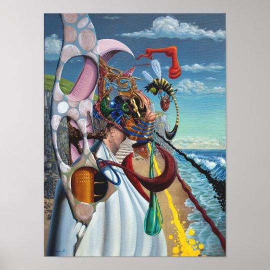 Flotsam Man. Oil on Canvas. By Gary Dorking