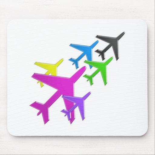 flotte d'avion cadeaux pour les enfants AEROPLANE Mousepads