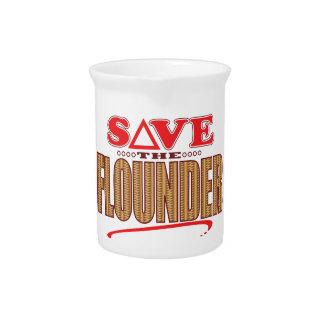 Flounder Save Pitcher