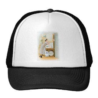 Flour Bakery Vintage Food Ad Art Mesh Hat