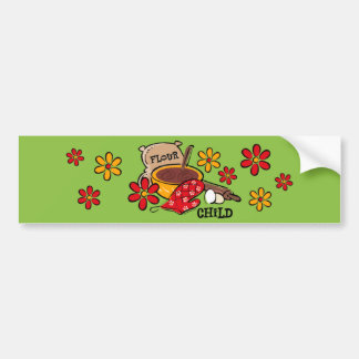Flour Child Bumper Stickers