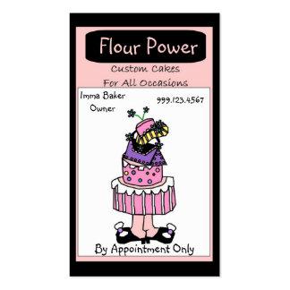 Flour Power Business Card