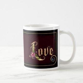 Flourina  Love - Personalized Basic White Mug