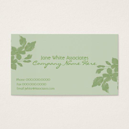 Flourish Business Card