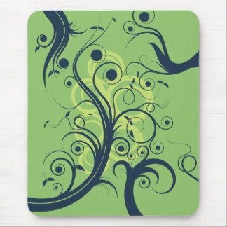 Flourish Swirls Mouse Mat