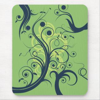 Flourish Swirls Mouse Pad