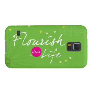 Flourish Your Life Case For Galaxy S5