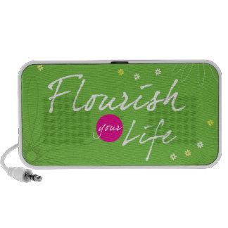 Flourish Your Life iPod Speakers